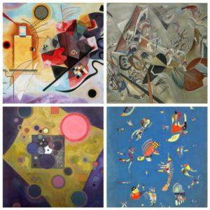 L'arte del grande pittore Kandinskij