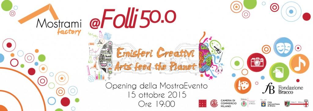 Emisferi Creativi - Arts feed the planet, la nuova MostraEvento in Mostrami Factory