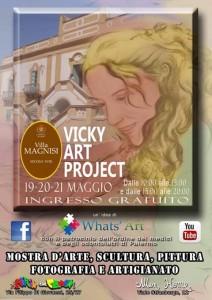 Mostra di arte contemporanea, artisti emergenti, Vicky Art Project Palermo