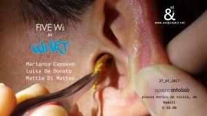 what &nd progetto culturale napoli giovani artisti emergenti